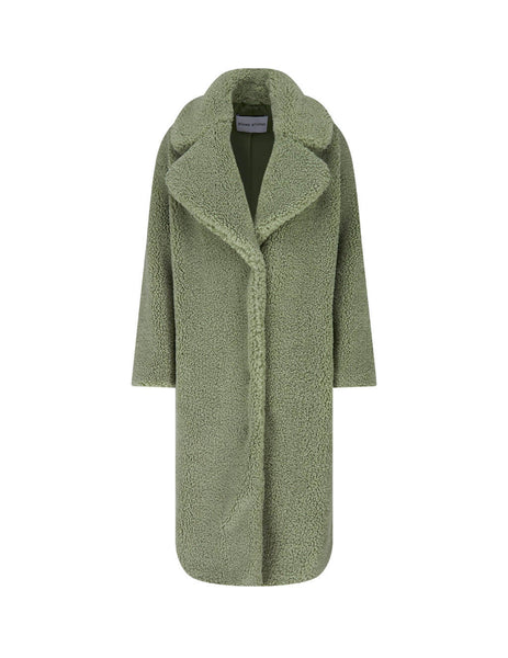 STAND STUDIO Women's Dusty Green Camilla Coat 61181-904050100