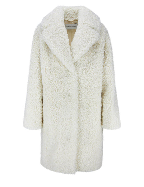 STAND STUDIO Women's Off White Camille Cocoon Coat 61137-902096000