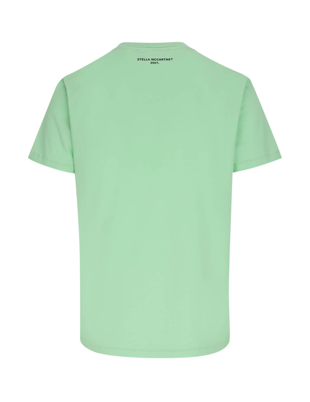 Stella McCartney Men's Handle With Care Print T-Shirt in Light Mint Green 572483SMP613900