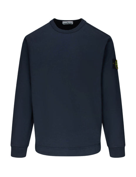 Men's Navy Blue Stone Island 64450 Sweatshirt 731564450-V0020