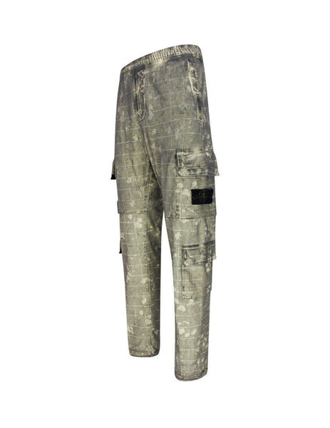 Stone Island Men's Butter 317E2 Trousers 7315317E2 V0035