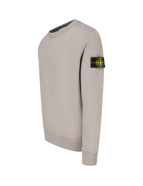 Men's Stone Island 63020 Sweatshirt in Mud. 731563020 V0068