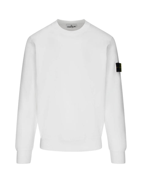 Stone Island Men's Giulio Fashion White 63020 Sweatshirt 731563020 V0001