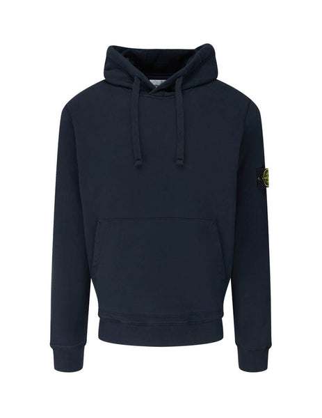 Men's Stone Island 64120 Hoodie in Navy Blue. 731564120 V0020