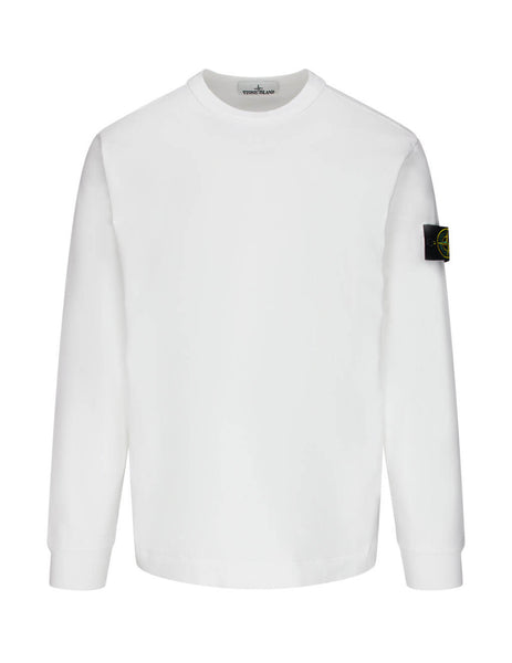 Stone Island Men's Giulio Fashion White 64450 Sweatshirt 731564450 V0001