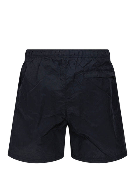Men's Stone Island B0943 Metal Swim Shorts in Navy Blue - 7415B0943 V0020