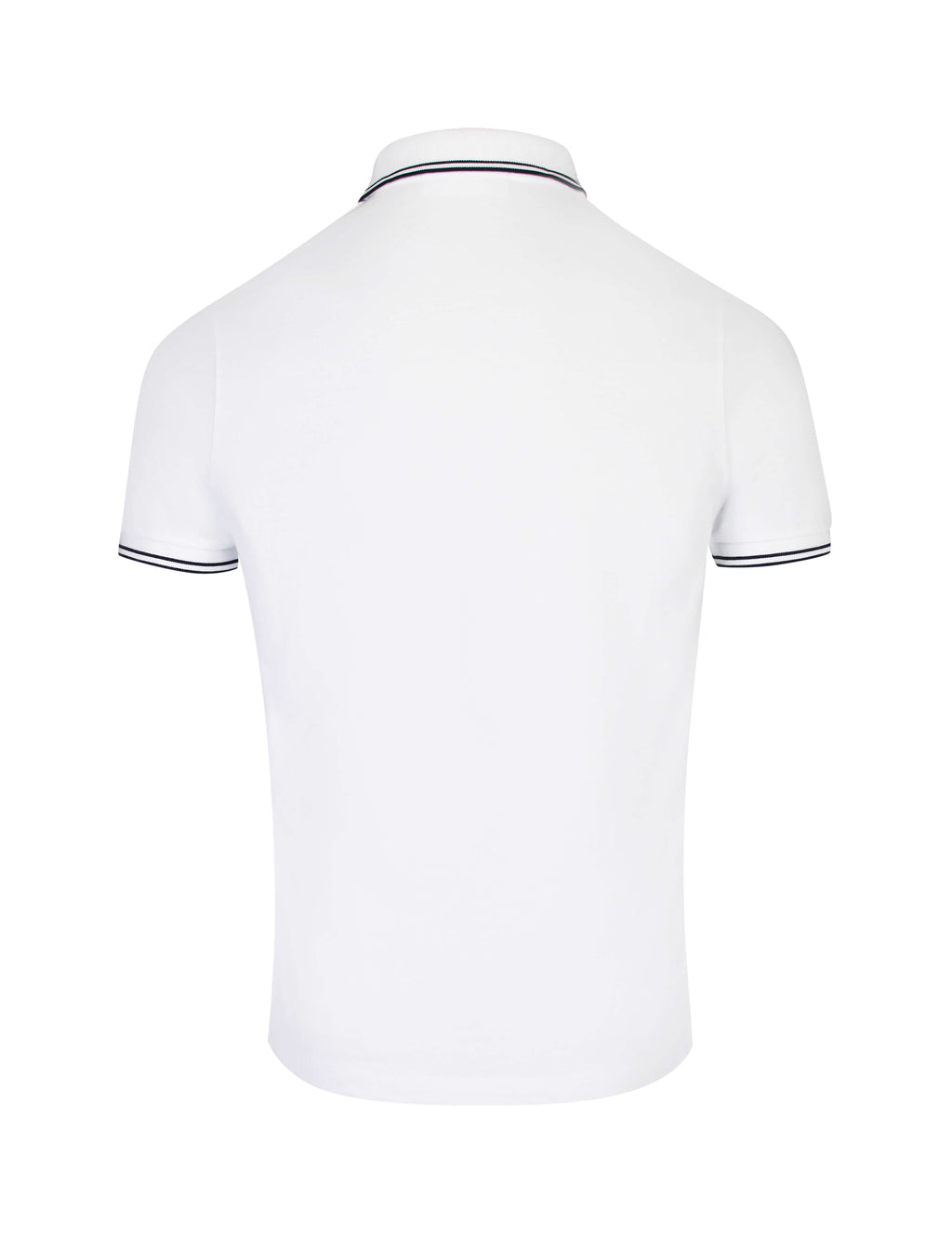 6e36dd23 Stone Island Men's Giulio Fashion White Compass Patch Polo Shirt  101522S18V0001
