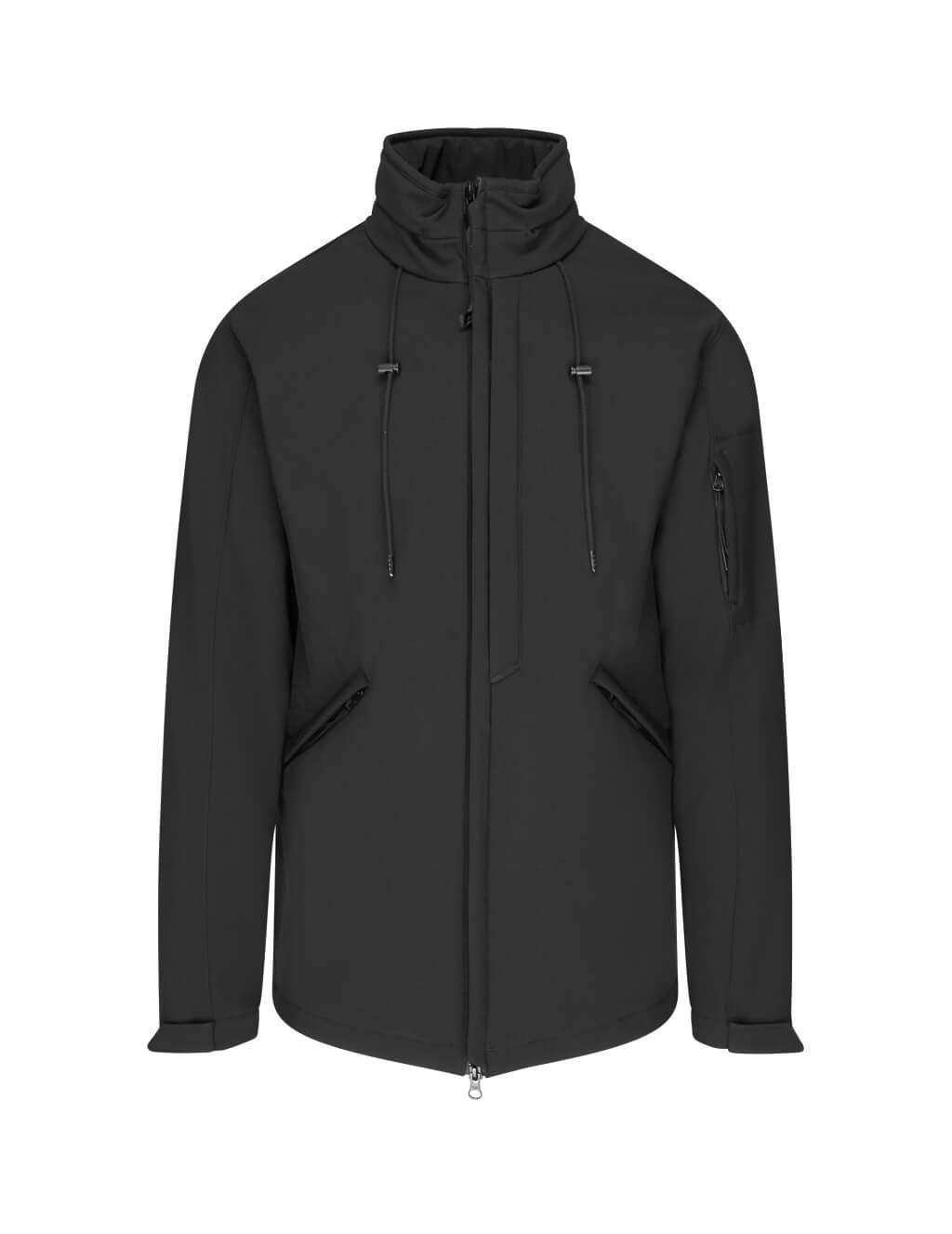 C.P. Company Men's Black Tech Fabric Lens Windbreaker Jacket 07Cmow016A005242A999