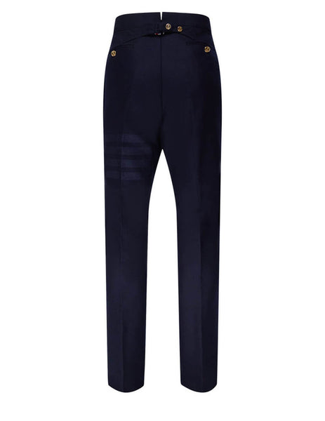 Thom Browne Men's Giulio Fashion Navy Classic Backstrap Trousers MTC001A06393415