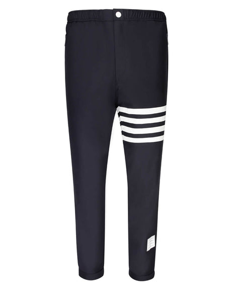 Thom Browne Men's Giulio Fashion Navy Elastic Track Trouser MTT012A00626415