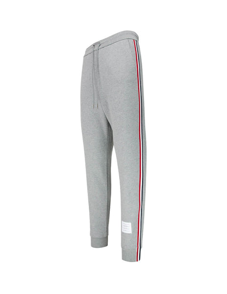 Thom Browne Men's Giulio Fashion Grey Grosgrain Stripe Track Pants MJQ066A03377055