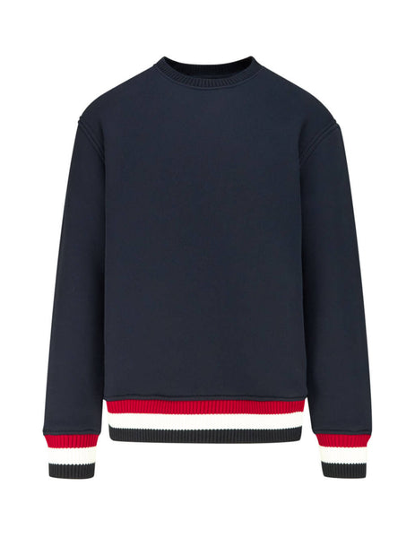 Thom Browne Men's Navy Loopback Pullover MJT184A05401415