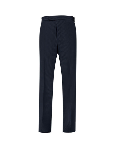 Thom Browne Men's Giulio Fashion Navy Unconstructed Trousers MTU265A06147415