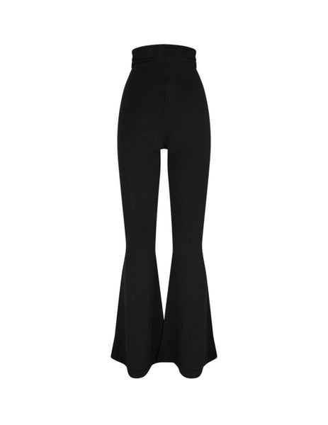 Unravel Project Women's Giulio Fashion Black Triangle Knit Flares UWHG009S20KNI0011000