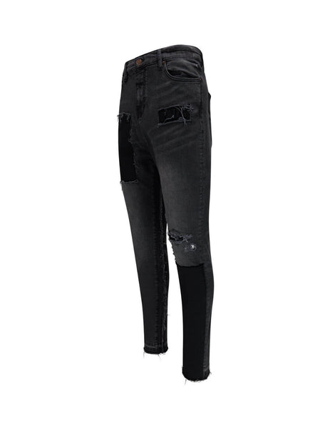 Men's Black Washed VAL KRISTOPHER Stationary Denim 1000898