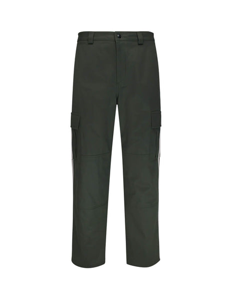Valentino Men's Forest Cargo Trousers with Ribbons TV3REA955TQ11Z