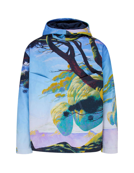 Men's Valentino Floating Island Print Hoodie TV0CJD4065U81M