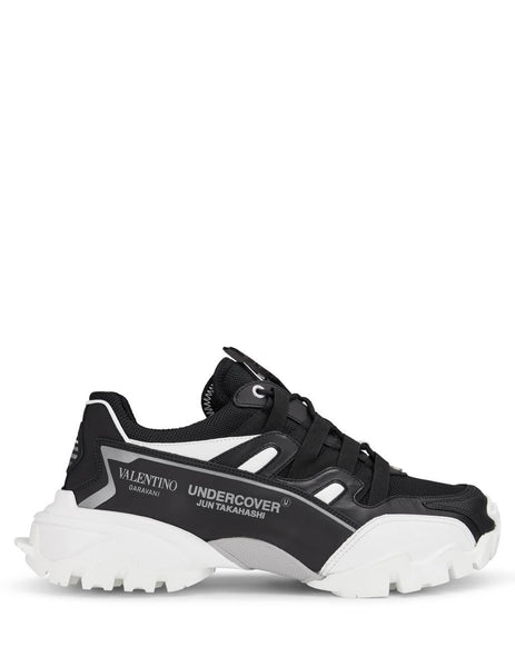 Men's Valentino Undercover Climbers Sneakers SY0S0C20PNQJQ8 in Black/White