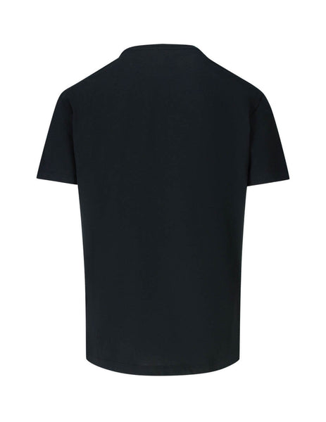 Valentino Men's Giulio Fashion Black 2099 T-Shirt SV0MG04E5SJ0NO