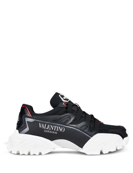Valentino Men's Giulio Fashion Black Climber Sneakers SY2S0C20LJPKCM
