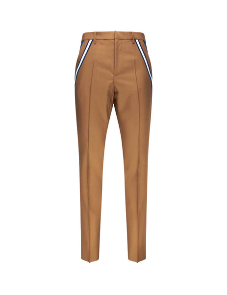 Valentino Men's Giulio Fashion Brown Contrasting Pocket Trousers SV3RBC905C8JMM