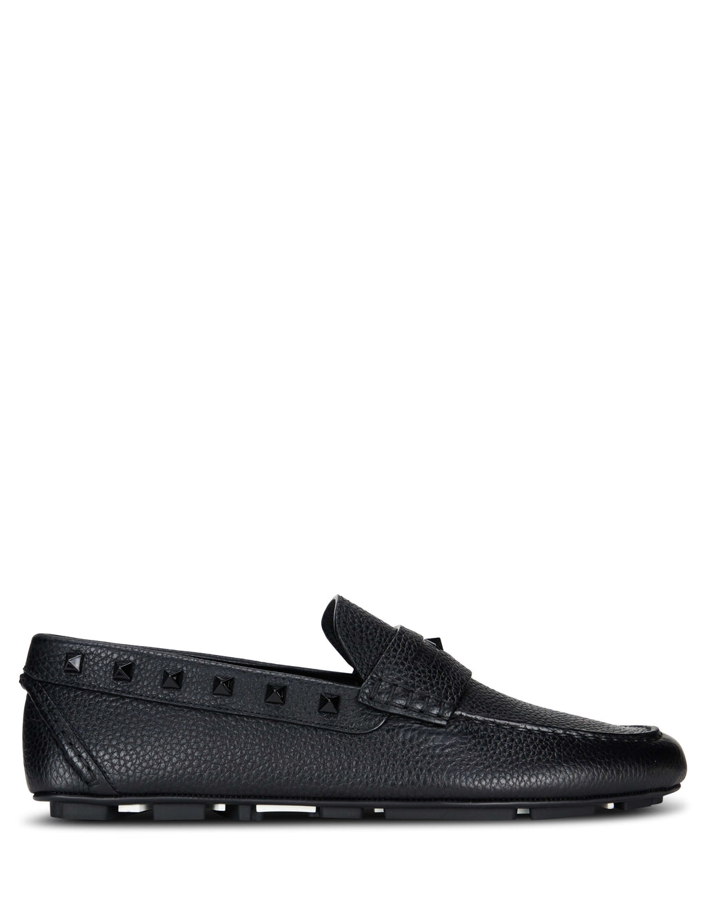 Valentino Men's Giulio Fashion Black Driving Shoes RY2S0B75WVG0NO