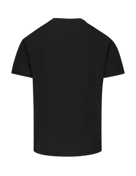 Valentino Men's Giulio Fashion Black Moon Dust T-Shirt TV3MG05C61414E