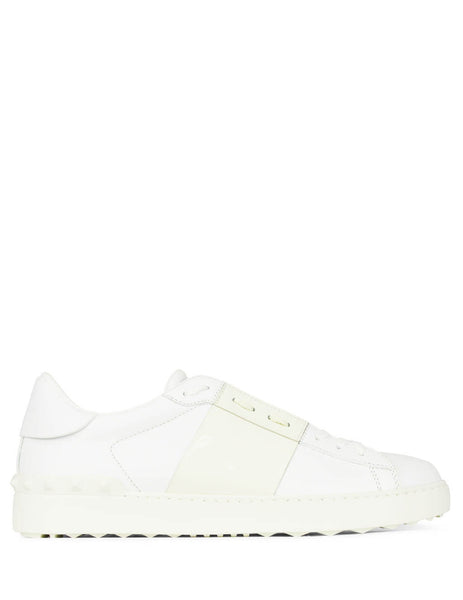 Valentino Men's Giulio Fashion White/Ivory Open Low-Top Sneaker PY2S0830TCQAA4