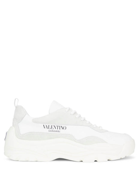 Valentino Ice White Suede Leather Sneakers SY2S0B17VRN0BO