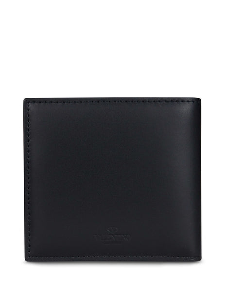 Valentino Men's Giulio Fashion Black VLTN Wallet RY2P0654LVN0NO