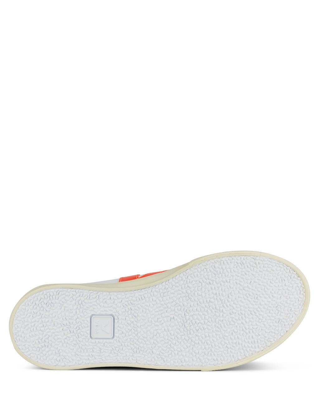 Women's White and Orange Veja Esplar Sneakers EO022213