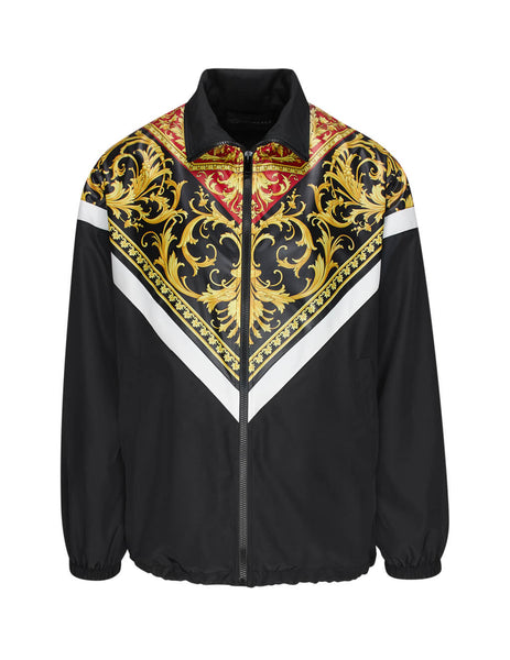 Versace Men's Black Le Pop Classique Jacket A85246-A232533-A7207