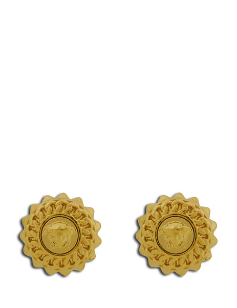 Versace Men's Giulio Fashion Warm Gold Medusa Studs DG27504-DJMT_D00H