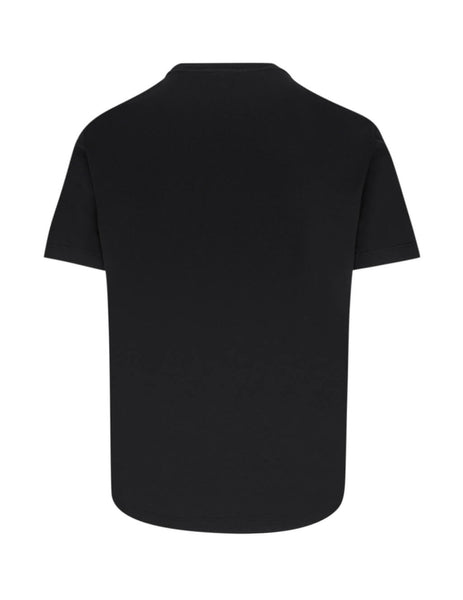 Versace Men's Giulio Fashion Black Number Plate T-Shirt A86002-A228806_A1690