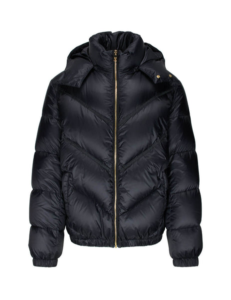 Men's Black Versace Puffer Jacket A87434-A233255_A1008