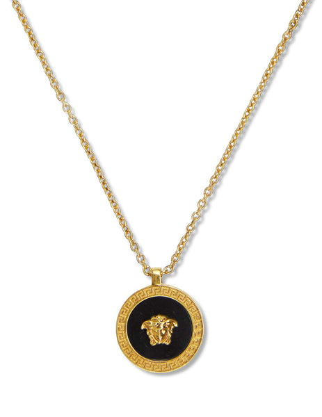 Versace Men's Gold Resin Medusa Necklace DG17255-DJMR_K41T