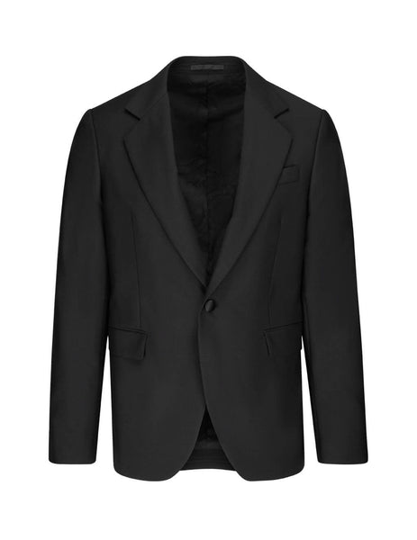 Versace Men's Giulio Fashion Black Evening Jacket A84466A219348A008