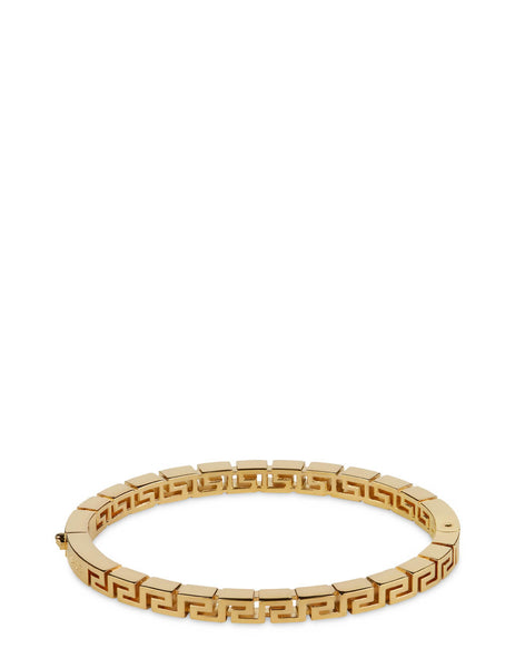 Men's Versace Greca Bangle Bracelet in Gold - DG07898-DJMT_KVO