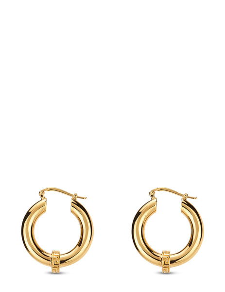 Versace Men's Versace Gold Greca Hoop Earrings DG28445-DJMT_KVO