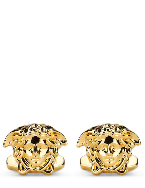 Versace Men's Warm Gold Medusa Cufflinks DG74686-DMT1_D00H