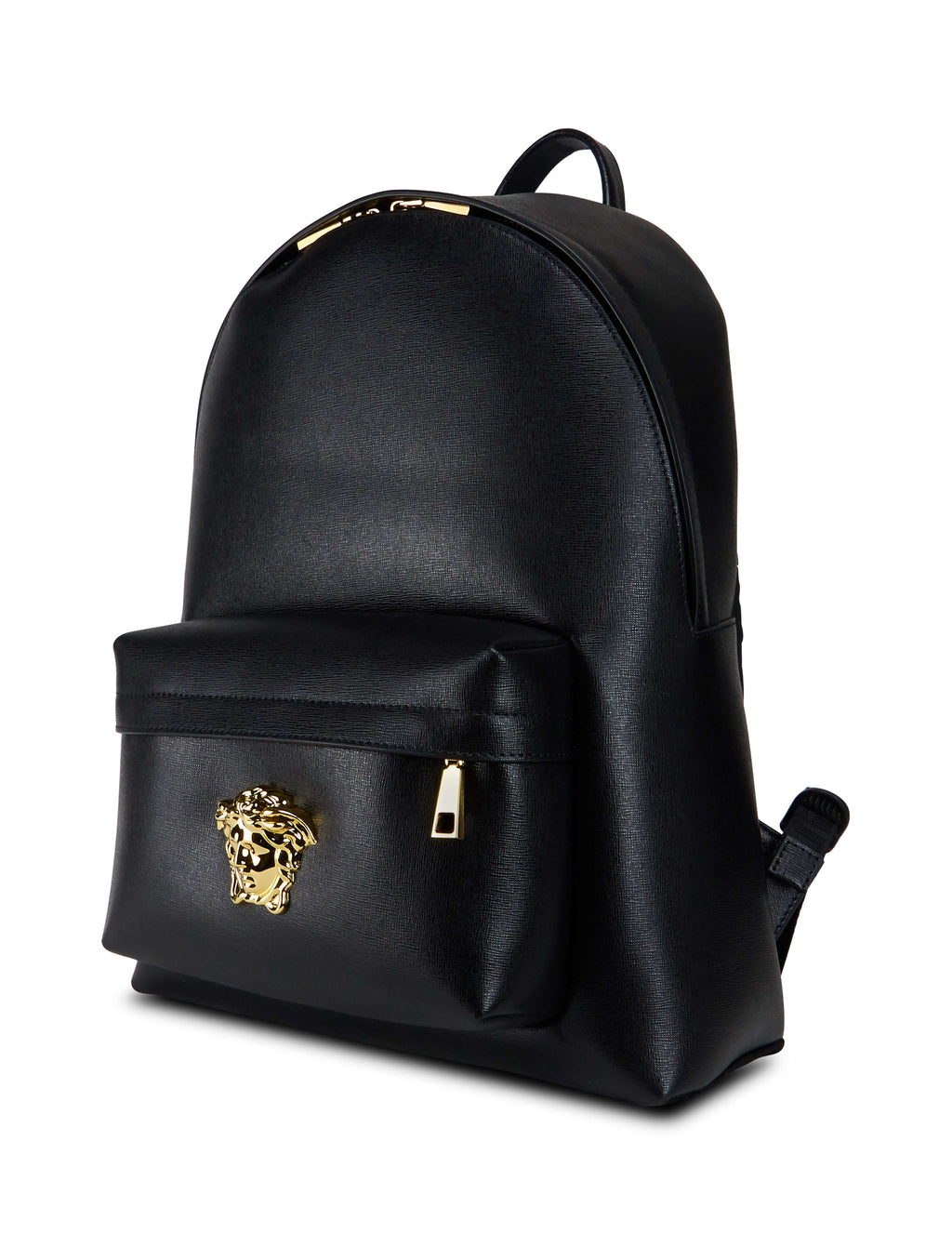 dd1a34d86ae6 Versace Men s Giulio Fashion Black Medusa Head Leather Backpack  DFZ5350DCASPD41OH