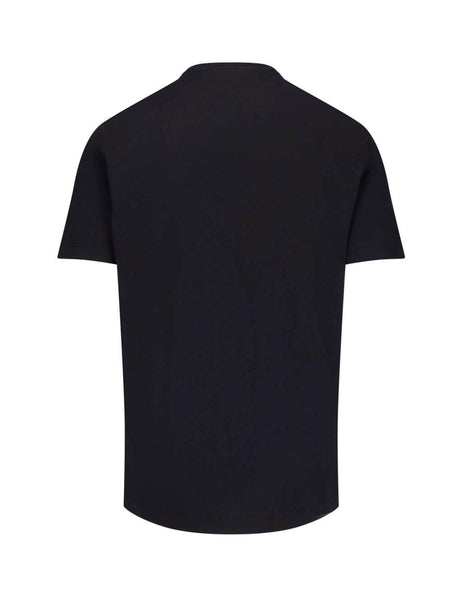 Versace Men's Giulio Fashion Black Medusa Head T-Shirt A82933A224589A008