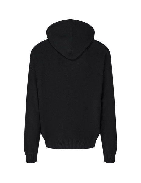 Men's Versace Medusa Hoodie in Black. A87203-A235893_A1008