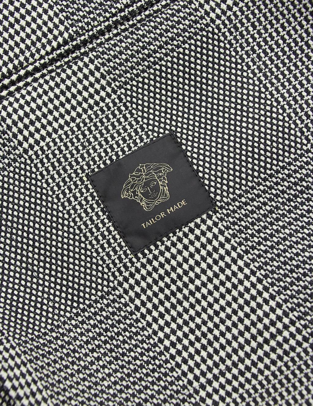 Versace Men's  Multi Check Tailored Coat A83106A230541A625