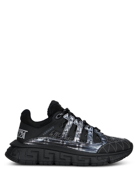 Men's Versace Trigreca Sneakers in Black - DSU8094-D18TCG_D4192