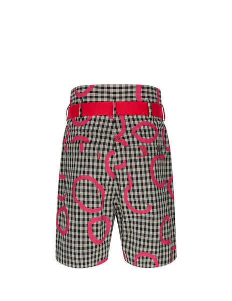 Vivienne Westwood Men's Checked Revolution Shorts S25MU0081S52615001S