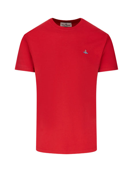 Vivienne Westwood Men's Giulio Fashion Red Boxy T-Shirt S25GC0459S226340305