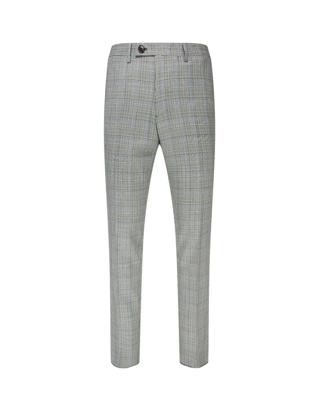 Men's Vivienne Westwood Checked Formal Trousers in Grey/Black/White. 2102000811569LRA201