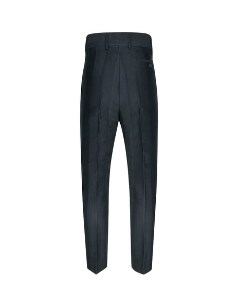 Vivienne Westwood Men's Giulio Fashion Black Chevron Trousers S25KA0591S52097900