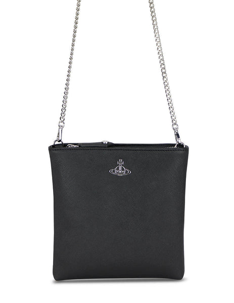 Derby Square Crossbody With Chain
